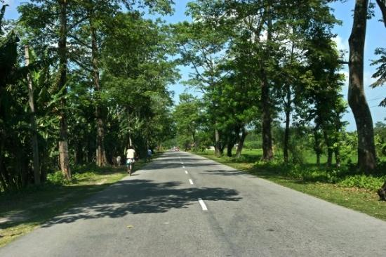 Guwahati, الهند: The Guwhati-Tezpur highway
