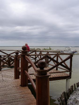 Tony's Inn & Beach Resort: view from the restaurant