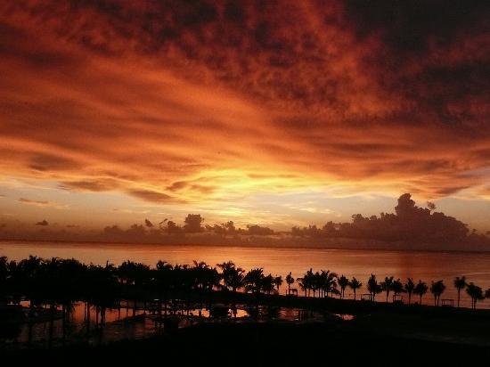 Sunrise from Hacienda Tres Rios