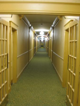 "The Willows: Hallway, reminded my wife of the movie ""The Shining"" REDRUM"
