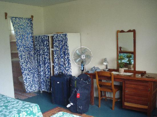 Pension Teataura : our room