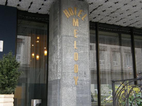 Arbat House Hotel: Hotel Entrance