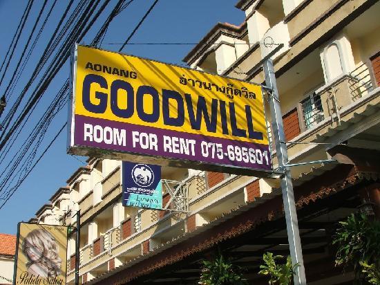 Aonang Goodwill: plate