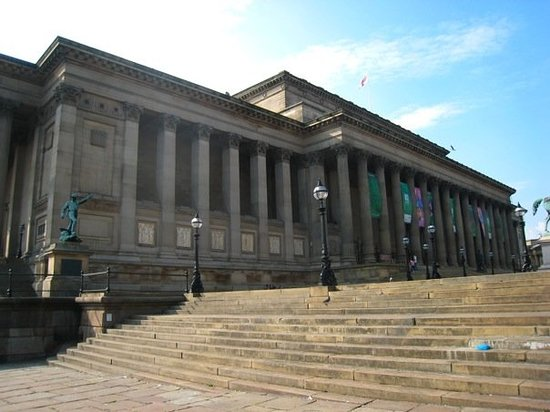 St. George's Hall: st gorge's hall. ringo played on the roof once. john's memorial was held on the steps and they p