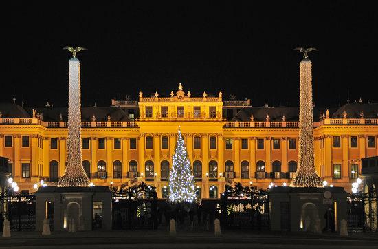 Kultur und Weihnachtsmarkt Schloß Schönbrunn