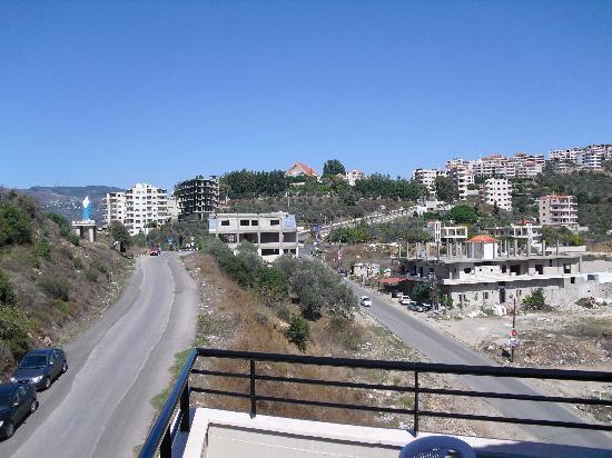 Mashtal Helu, Siria: Montana hotel in Mashta El Helou
