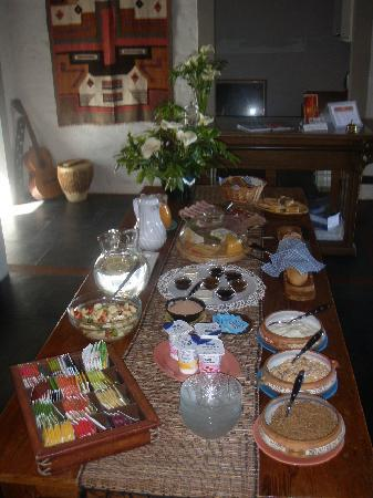 Posada de Campo Gondwana: P.Gondwana: Buffet de desayuno (brunch)