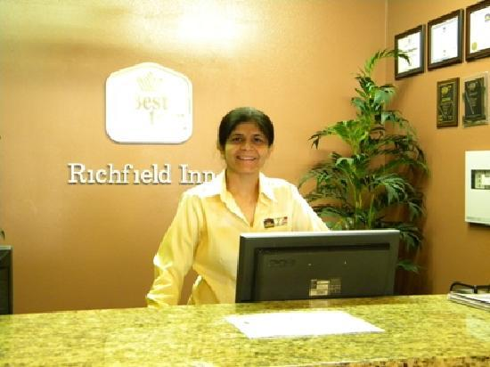 BEST WESTERN Richfield Inn: Great Manager