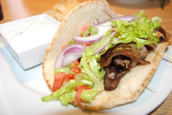 Key Lime Cafe: lamb gyro
