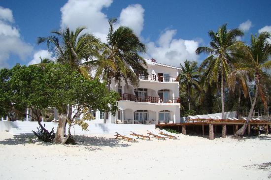 Dongwe Ocean View: fronte hotel