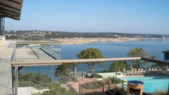 Lakeway Resort and Spa: View from spa building