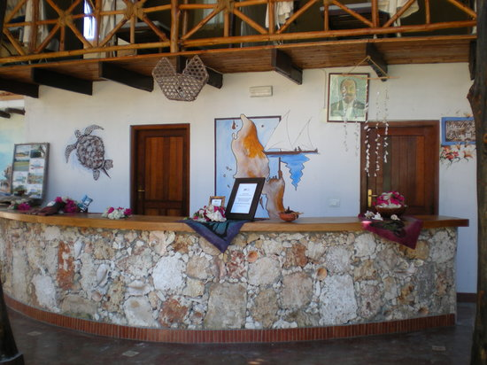 Samaki Lodge & Spa: la reception!