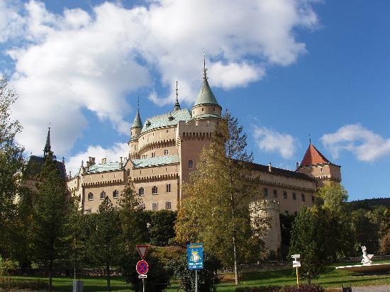 Bojnice, Slovensko: Esterno del castello