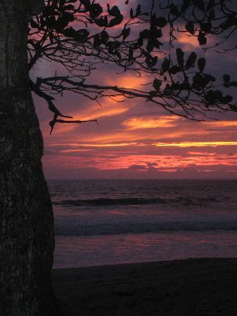 Sunset at Casa Cecilia