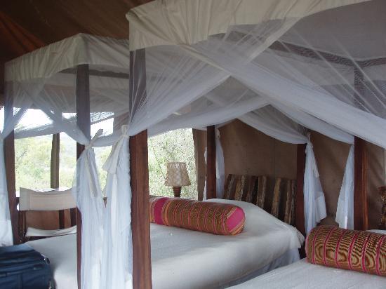 Mihingo Lodge: Bedroom