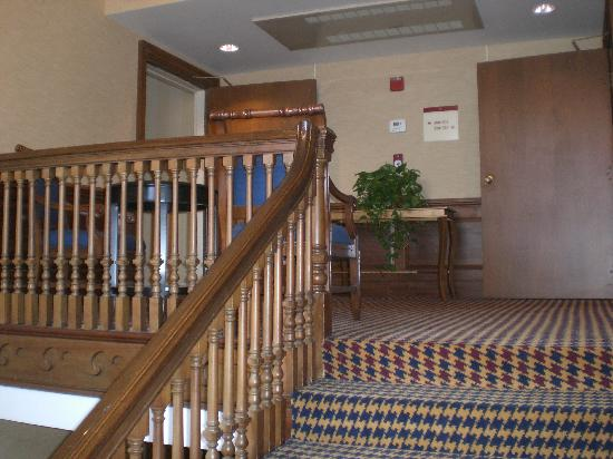 Exeter Inn: Escaliers / Stairs