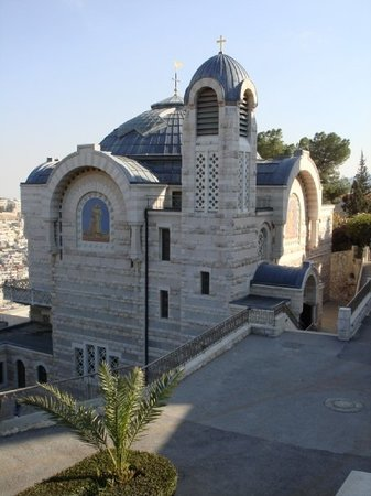 Jerusalem, Israel: St Peter of Gallicantu (site of public jail near Caiaphas' home) where Peter denied Jesus three