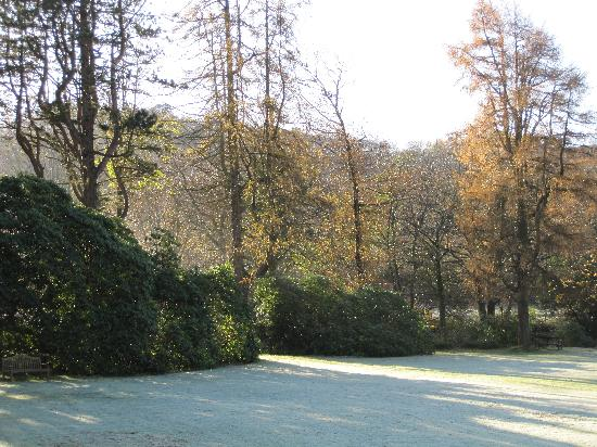Stanley House: Frosty morning at the hotel