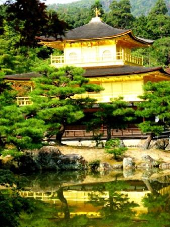 Japan: Kinkankuji - The Golden Pavilion