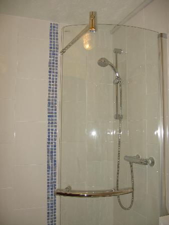 The Fairmount Hotel: Shower