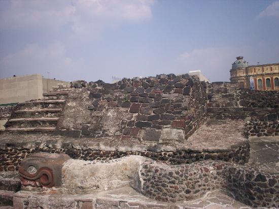 Museo del Templo Mayor: Templo Mayor Azteca 1