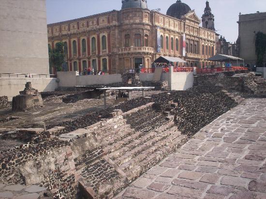 Museo del Templo Mayor: Templo Mayor Azteca 7