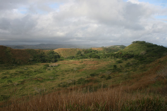 Sigatoka, Fidji : The vegetated dunes