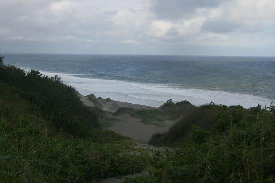 Sigatoka Sand Dunes National Park: View of the sea