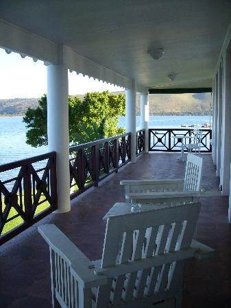 The St. James of Knysna: balcony
