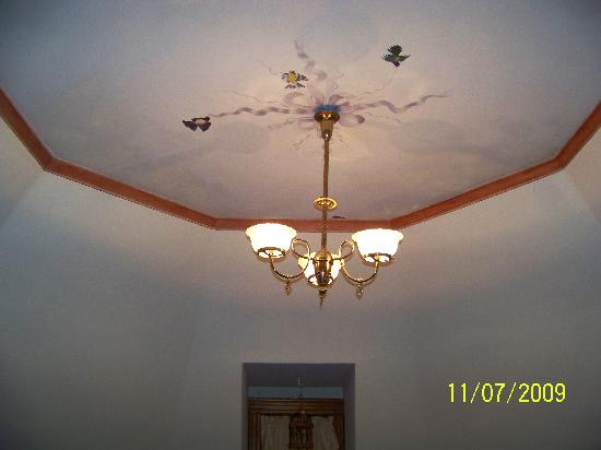 Sugar Magnolia Bed & Breakfast: The Aviary Ceiling