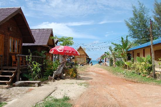 Banana Garden Home: Distancia a la playa