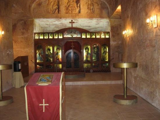 Coober Pedy Serbian Underground Church Picture Of