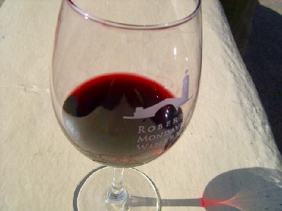 Robert Mondavi Winery: ワイングラス