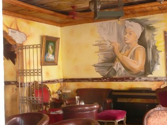 Mundo Bizarro: binnen in het restaurant