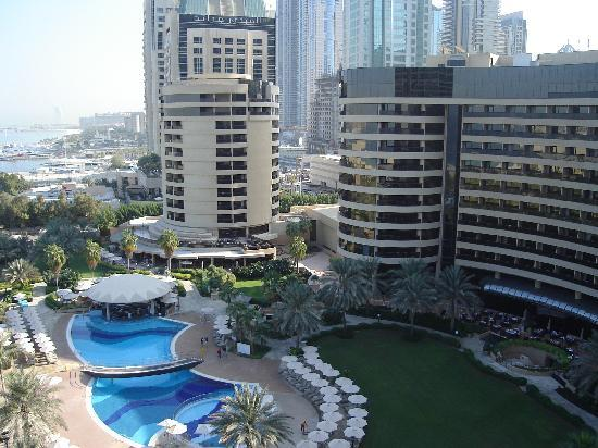 looking from bedroom onto jumeirah picture of le royal meridien resort spa