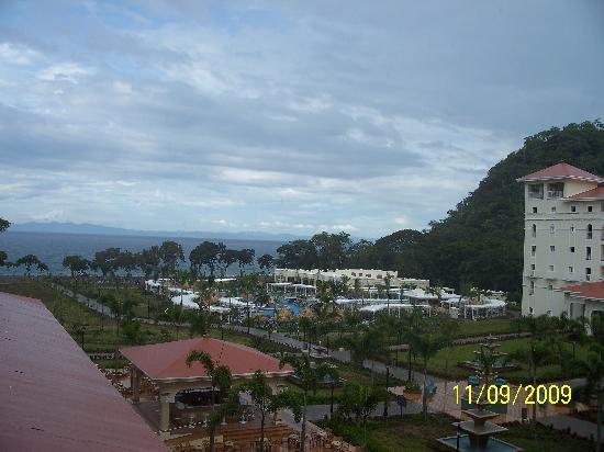 Hotel Riu Guanacaste: oceanview from resort