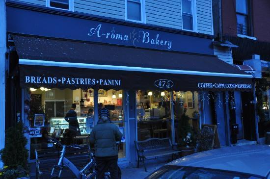 A-Roma Bakery: esterno del locale