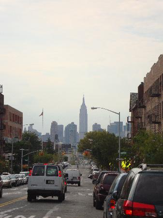 Best Western Long Island City: View near hotel to downtown Manhattan