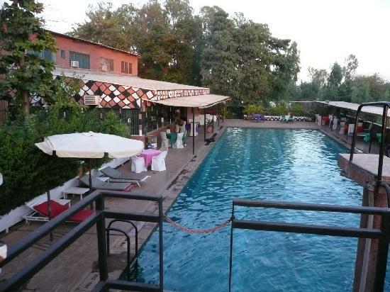 piscine de l'hotel Ricardo Burkina