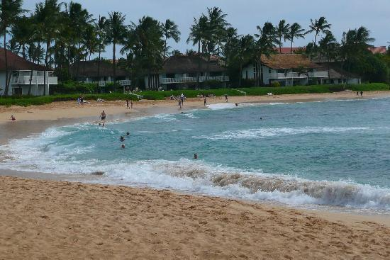 The Point at Poipu: View from my cabana at the Sheraton! SOOOOO worth it!!