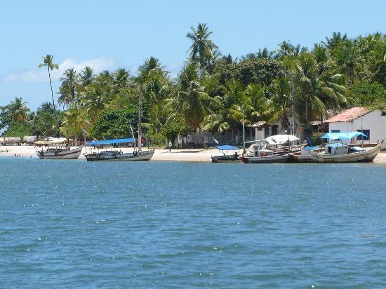 Geographic Boipeba Hostel: vista do porto de Boipaba