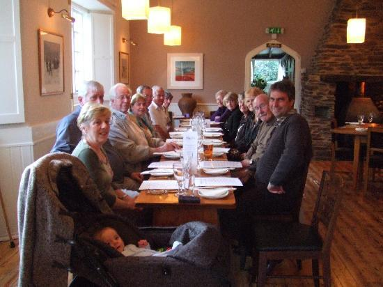 The Laughing Monk Restaurant: Our family get together