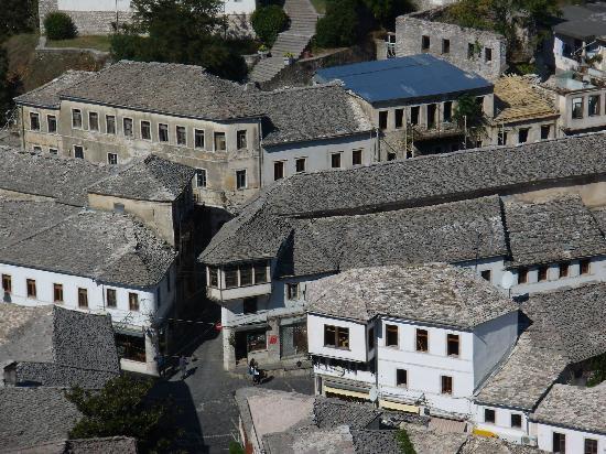 Butrinti Hotel: Gjirokaster traditional hilltown