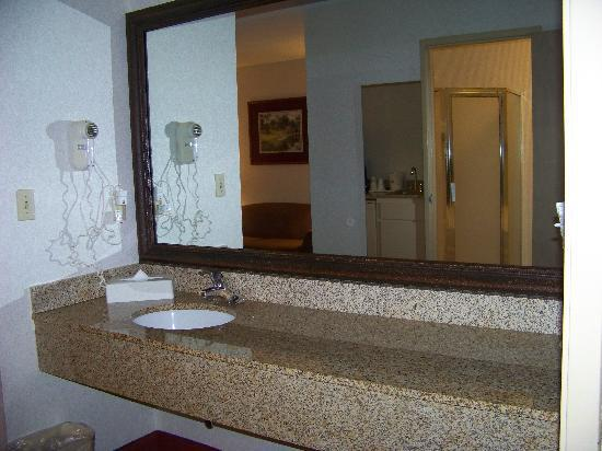 Best Western Plus Carlton Suites: Bathroom Vanity