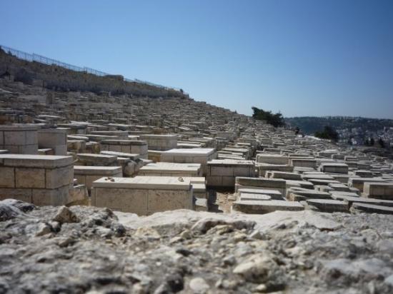 เขามะกอกเทศ: Židovský hřbitov na Olivové hoře