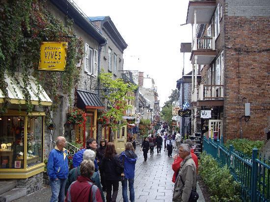 Quartier Petit Champlain: プチ・シャンプラン地区