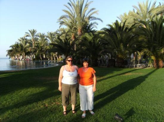 Meloneras, España: me and sis in our fav place
