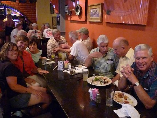 Norm's Place: Big tables for big groups