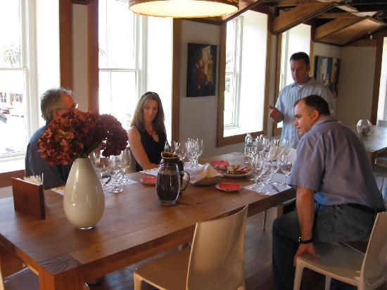 Vintner's Collective : Private tasting with Andy.