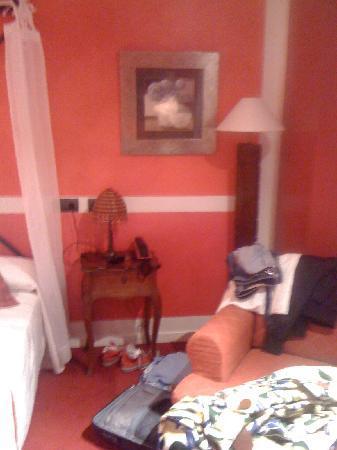 Marina de Campios: Está claro que la habitación era pequeña